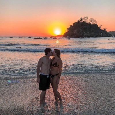 Crystal Bay Beach Sunset