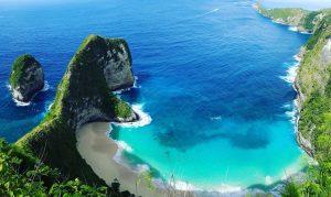 obyek wisata Kelingking Beach Nusa Penida Tour