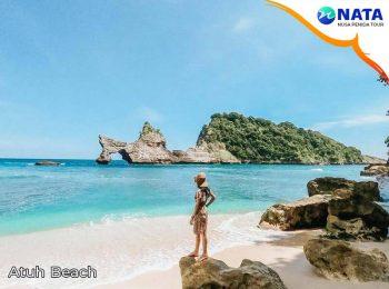 Atuh Beach Nusa Penida Tour 2 Hari 1 Malam Snorkeling