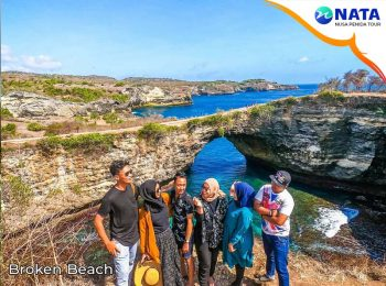 Broken Beach Nusa Penida Tour 2 Hari 1 Malam Snorkeling