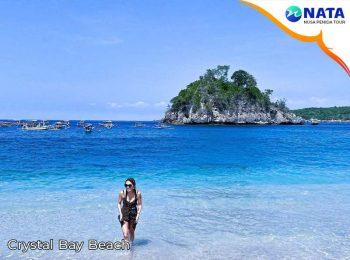 Crystal Bay Beach Nusa Penida tour 2 hari 1 malam snorkeling