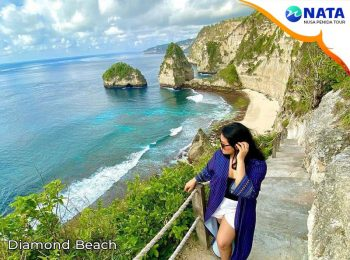Nusa Penida Tour 1 hari 1 malam Diamond Beach
